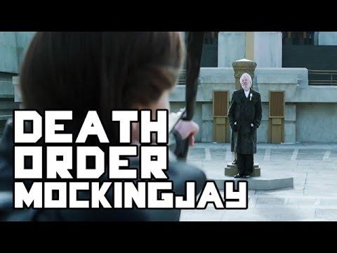 The Hunger Games: Mockingjay - Death Order