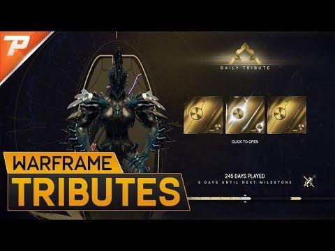 Warframe: Confirmed Login Reward Changes