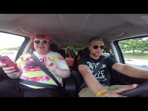 SIUE Dance Marathon Carpool Karaoke Bloopers