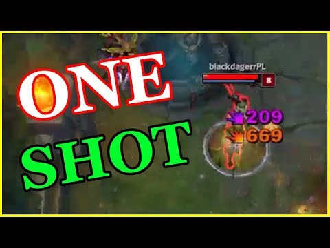 Best One Shot In League Of Legends ?  One-Shot Montage  | League Of Legends Mid