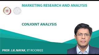 Lecture 40  Conjoint Analysis