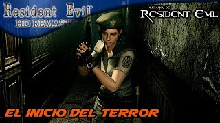 El inicio del terror | Resident Evil HD Remaster | Gameplay