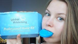 Отбелить зубы ДОМА за 30 минут: Легко!  Global Whitening(О процессе и результатах отбеливания зубов в домашних условиях с помощью системы global whitening professional home kit..., 2014-07-23T02:30:01.000Z)