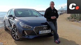 Hyundai i30 2018 Primera prueba Test Review en espaol coches.net смотреть