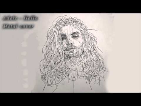 (1 Hour Loop) Adele - Hello [metal cover by Leo Moracchioli]