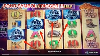 Longhorn Deluxe Slot! MULTIPLE retriggers! Big win!