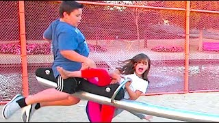 TEETER TOTTER TRAGEDY!!!
