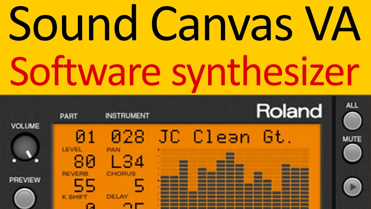Roland Sound Canvas VA Software Synthesizer with DOSBox and ScummVM