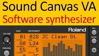 Roland Sound Canvas VA Software Synthesizer with DOSBox and ScummVM