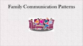 family and communication in as i How to communicate with parents explore more from family, friend & neighbor care article caregiver-parent communication tools.