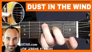 Dust In The Wind Guitar Lesson - part 1 of 6