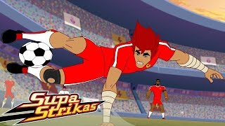 Supa Strikas | Saltos sobre Cabeça  Episódios Completos | Desenhos Animados de Futebol