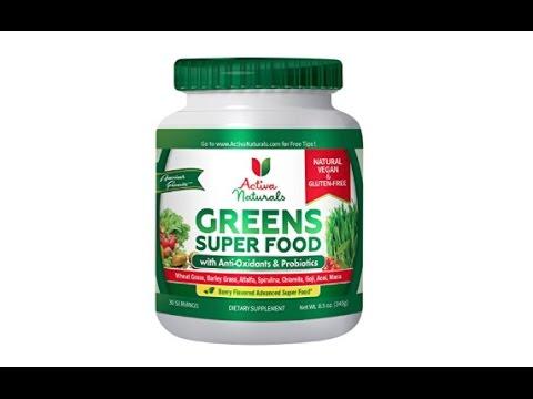 Activa Naturals All-Natural Greens Super Food Health Supplement