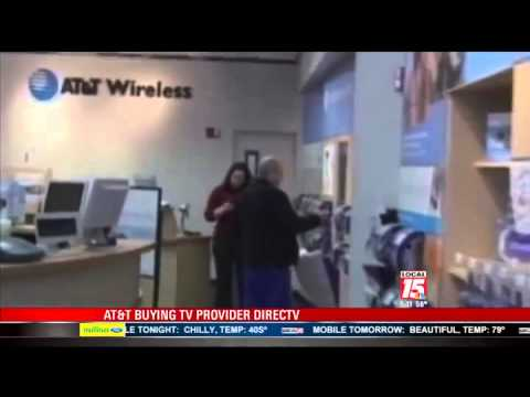 AT&T Buying TV Provider Directv
