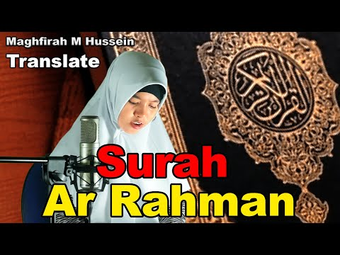 Download Lagu Maghfirah M Hussein Surat Ar Rahman Full (Official Video) HD