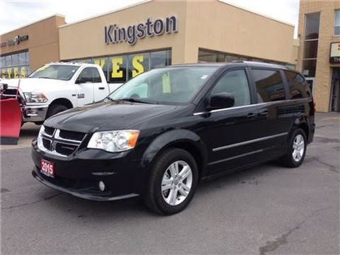 used 2015 dodge grand caravan crew black for sale. Black Bedroom Furniture Sets. Home Design Ideas