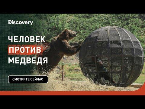 Кто король горы? | Человек против медведя | Discovery