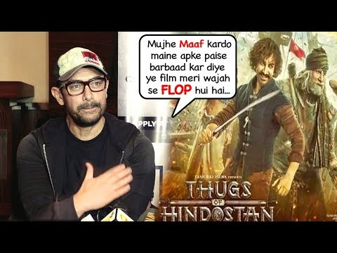 Aamir Khan's Full AP0LOGY Interview on Thugs Flopping At Box Office