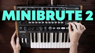 Arturia Minibrute 2 quick tour and first impressions