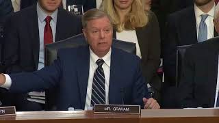Sen. Lindsey Graham Rips Democrats for