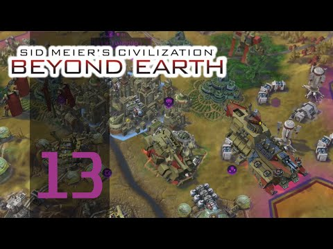 Civilization Beyond Earth - First Playthrough (PAC Purity) - Part 13: Lev Destroyer