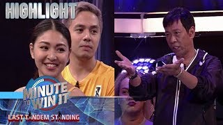 Nadine Lustre, pumili sa pagitan nina James Reid at Master Long Mejia | Minute To Win It