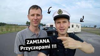 """Jadę Przyczepą Kempingową """"Kapitana Przyczepy"""""""
