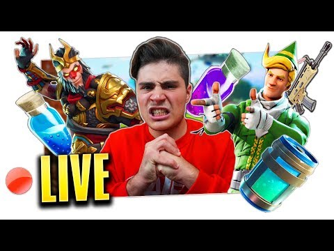 FORTNITE IN LIVE DALLA NUOVA CASA!