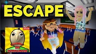Escape Baldi's Schoolhouse-Roblox The Schoolhouse