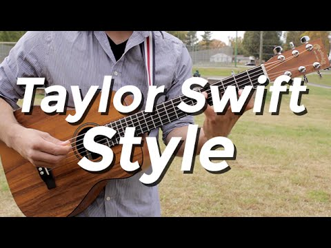 Taylor Swift - Style (Guitar Lesson) by Shawn Parrotte