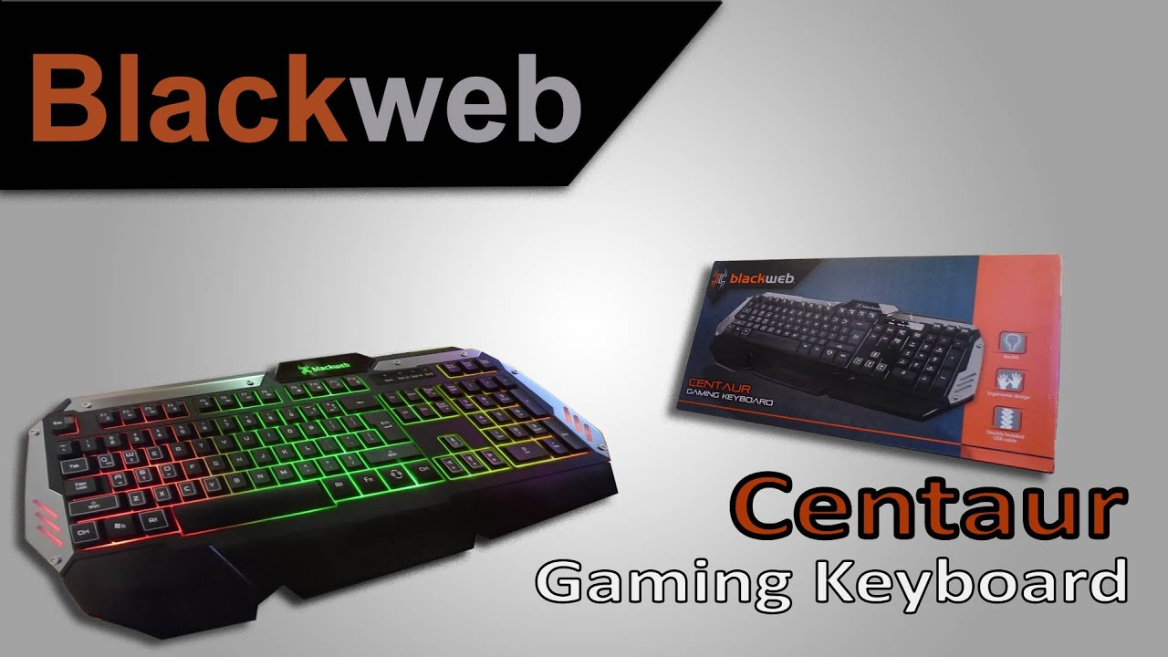 Blackweb gaming keyboard review