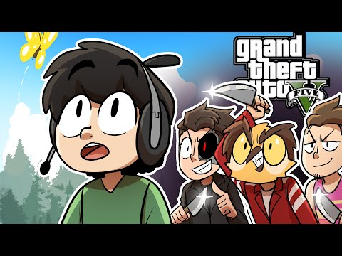 GTA 5 But My Friends Are Actually My Enemies...