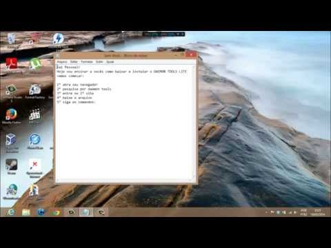 Como baixar e instalar daemon tools lite windows 8 youtube - Daemon tools lite windows 8 ...