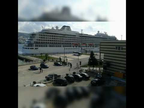 18.02.2017  Saranda open cruise season    Viking cruise was the first cruise that visited Saranda