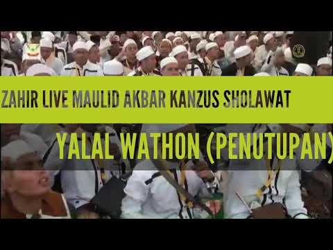 AZ ZAHIR ~ BBM ~ AL MUNSYIDIN || YALAL WATHON