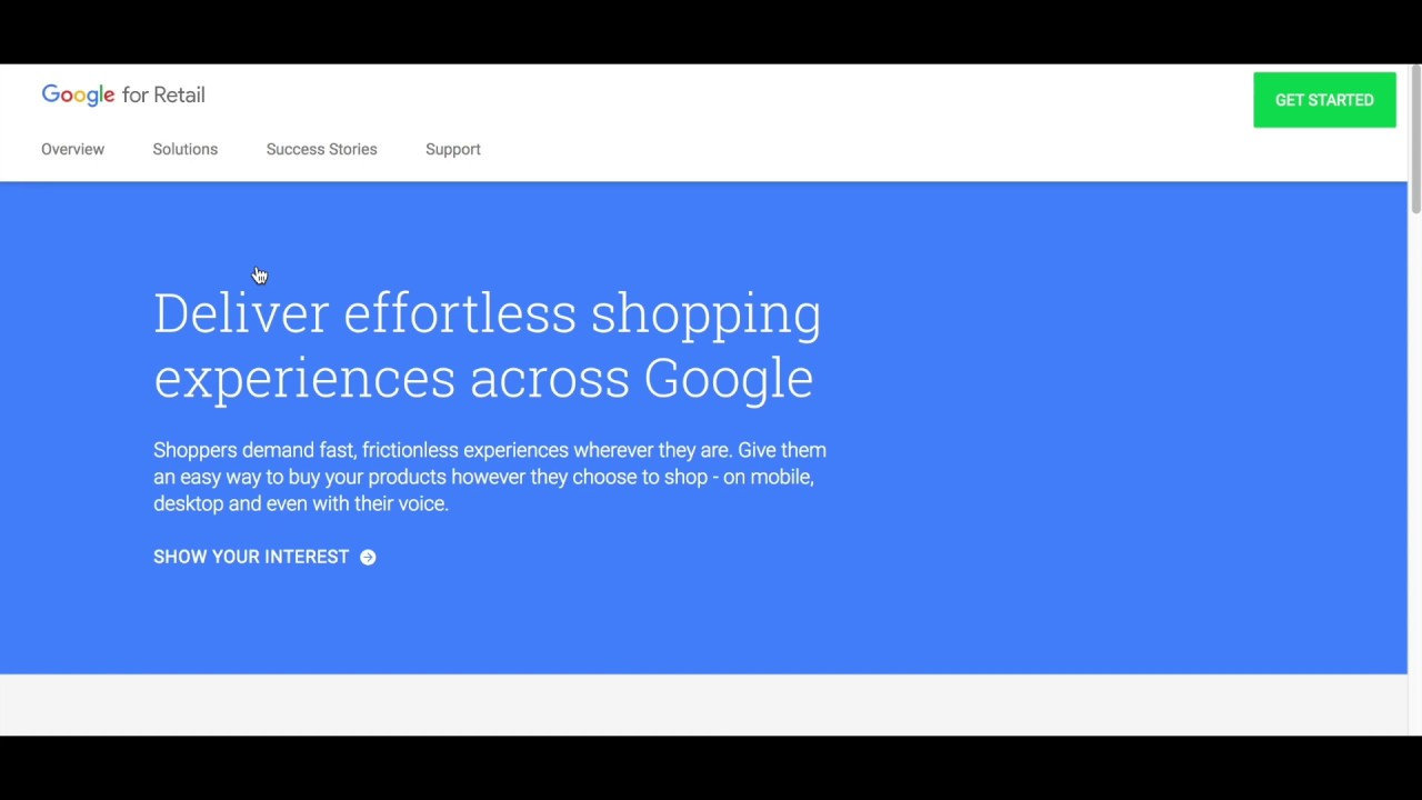 What is Google Shopping Actions?