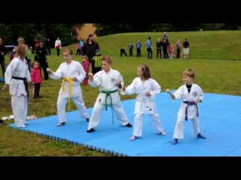 Ukázka karate dětí - Atara karate klub