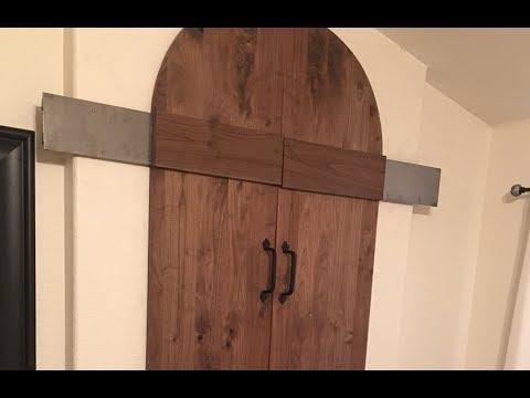 Custom Hardware Bathroom Barn Door