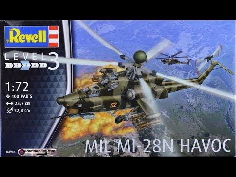 Revell MIL Mi-28N HAVOC 1:72 Revell 04944