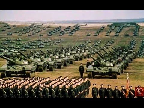 Документальный фильм 1981 года .О самых масштабных учениях Советской армии за всю ее историю