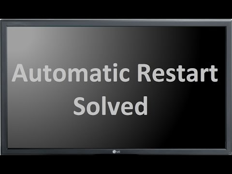 Desktop Computer Restarts Again Again Automati Windows Solved
