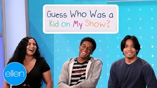 Guess Who Appeared oฑ 'The Ellen Show' as a Kid!