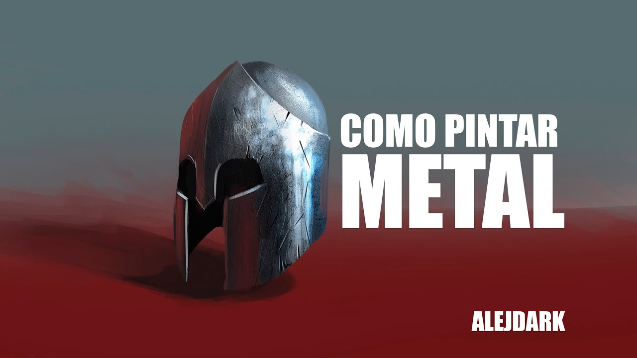 TUTORIAL: COMO PINTAR METAL - YouTube