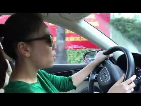 Thu Minh lái xe hát live như thu âm !!!