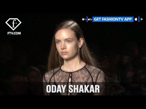 New York Fashion Week Fall/Winter 2017-18 - Oday Shakar Trends | FashionTV
