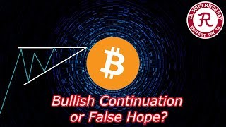 Bitcoin Live : BTC Ascending Triangle? Part 2 -  Episode 442 - Crypto Technical Analysis
