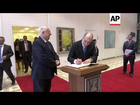 New Jordanian And Egyptian Diplomats Meet Israeli President