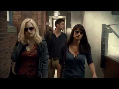 Rookie Blue - 3x04 - Andy and Gail come to work Hungover +Andy's speech + Gail drunk texting