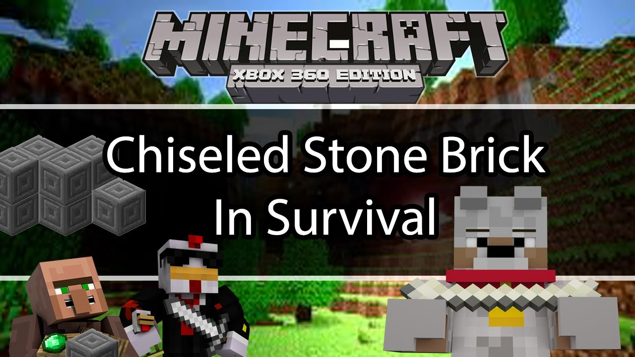 How to get Chiseled Stone Brick in Survival | # ...