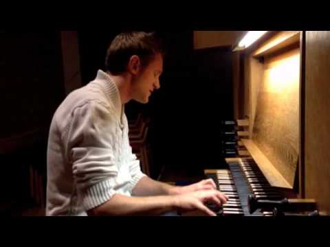 J.S. Bach 'Gigue' Fugue G-Major BWV 577, Matthias Havinga, Organ